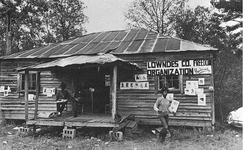 Home base of Lowndes County Freedom Organisation, AL