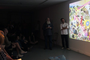 Joris Lindhout and Christopher Brown in conversation on psychedelica and new media.