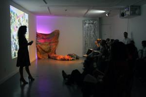 Maaike Gouwenberg introduces the second event around Night Soil/Fake Paradise by Melanie Bonajo.