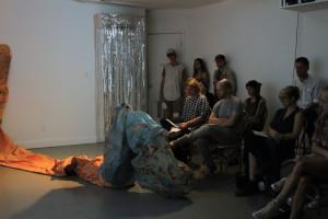 Performance by Vanessa Centeno.